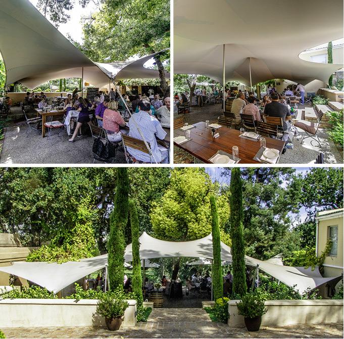 Freeform® Custom Tent at Terroir Restaurant, De Zalze Estate, Stellebosch