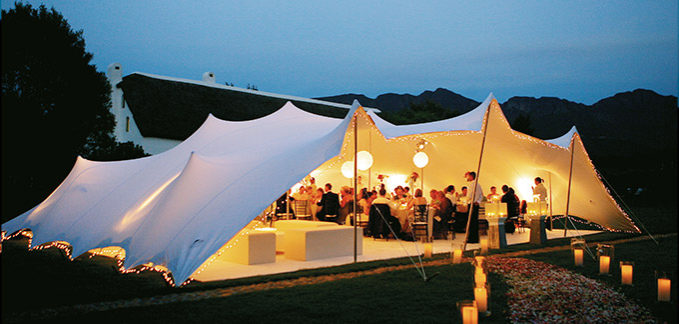 Freeform ® tents turn venues into wedding destinations