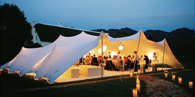 Freeform tents
