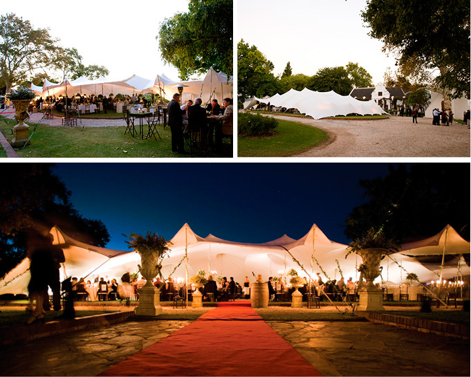 Freeform <sup>®</sup> tents turn venues into wedding destinations