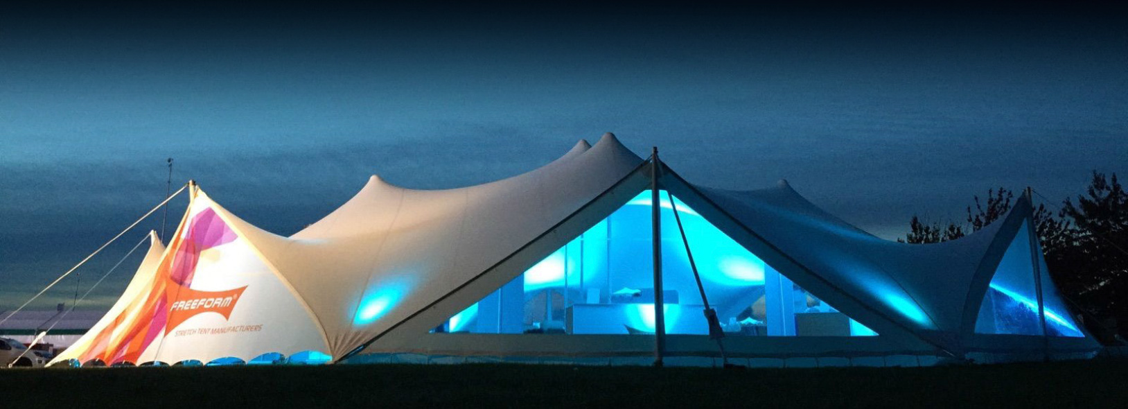Stretch Marquees Side Walls For Stretch Tents Freeform Tents - Free form