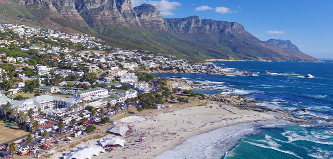 Beautiful Camps Bay on the Atlantic Seaboard played host to this epic 4 day event.
